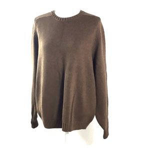Lands' End Caramel Brown Sweater Size XL (18-20)